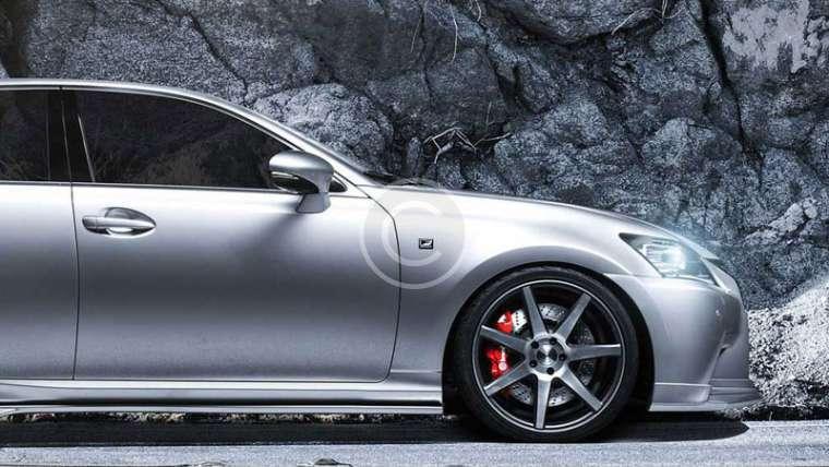 Lexus GS Luxury Tuning with Vossen and Spec-D